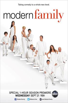 Modern Family season 3 DVD-poster