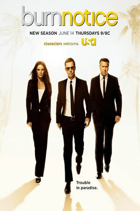 Burn Notice Season 6 DVD-poster