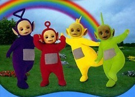Teletubbies dvdset