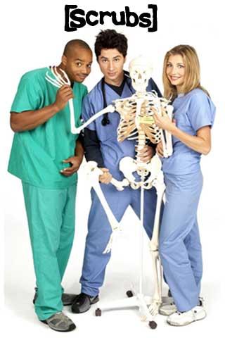 scrubs seasons 1-9 DVD