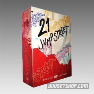 21 Jump Street Seasons 1-5 DVD Boxset