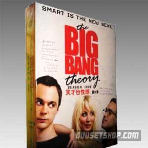 The Big Bang Theory Season 1 DVD Boxset
