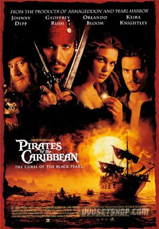 Pirates of the Caribbean: The Curse of the Black Pearl (2003) DVD