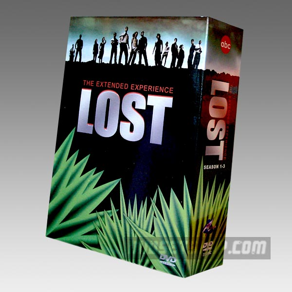 Lost Seasons 1-3 DVD Boxset