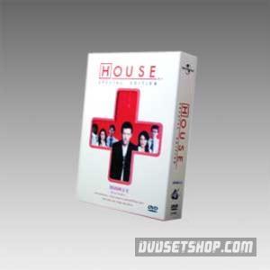 House M.D Seasons 1-3 DVD Boxset