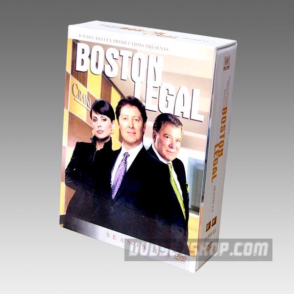 Boston Legal Seasons 1-3 DVD Boxset