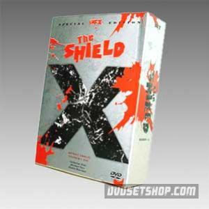 The Shield Seasons 1-5 DVD Boxset