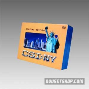 CSI:NY Seasons 1-3 DVD Boxset
