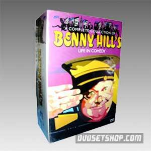 Benny Hill's Life In Comedy Collection Season1-3 DVD Boxset