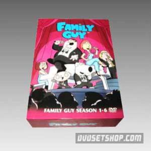 Family Guy Seasons 1-6 DVD Boxset
