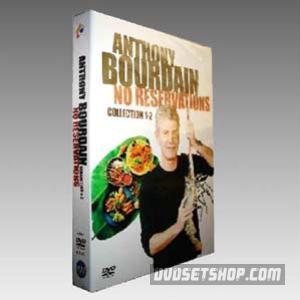Anthony Bourdain: No Reservations Seasons 1-2 DVD Boxset