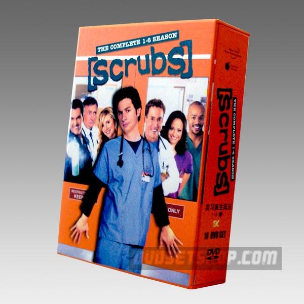 Scrubs Seasons 1-6 DVD Boxset