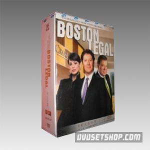 Boston Legal Seasons 1-4 DVD Boxset