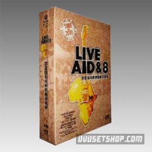 Live Aid&8 Collections DVD Boxset