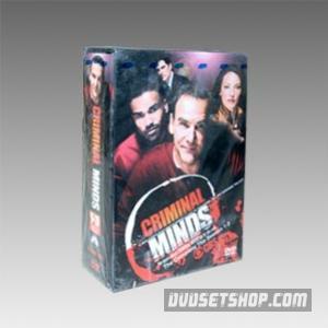 Criminal Minds Seasons 1-3 DVD Boxset