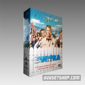 Eureka Complete Seasons 1-3 DVD Boxset