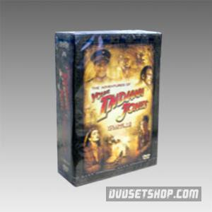 The Adventures Of Young Indiana Jones Seasons 1-3 DVD Boxset