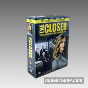 The Closer Seasons 1-3 DVD Boxset