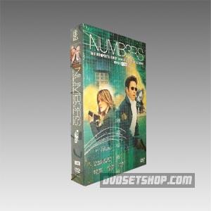 Numb3rs Seasons 1-4 DVD Boxset