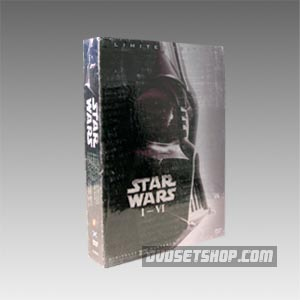 Star Wars Trilogy I-VI DVD Boxset