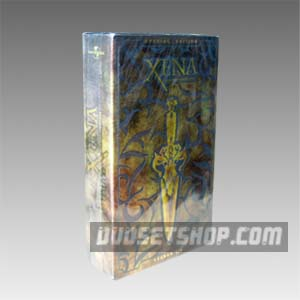 Xena: Warrior Princess Season 1-6 DVD Boxset