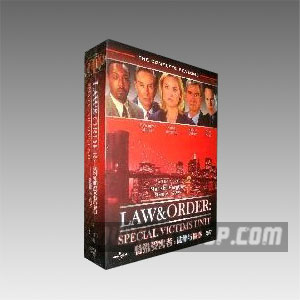 Law and Order: Special Victims Unit Seasons 1-2 DVD Boxset