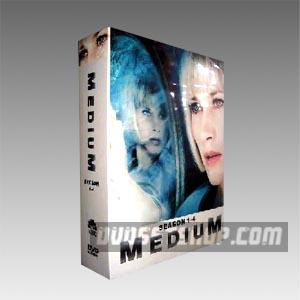 Medium Seasons 1-4 DVD Boxset