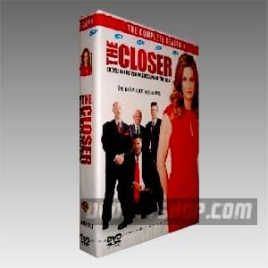 The Closer Season 4 DVD Boxset