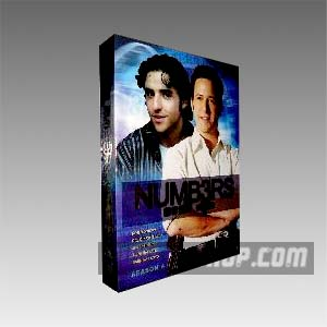 Numb3rs Season 4 DVD Boxset