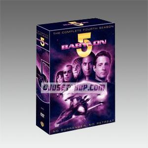 Babylon 5 Season 4 DVD Boxset