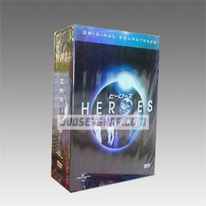 Heroes Seasons 1-3 DVD Boxset