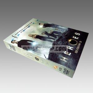 Heroes Season 3 DVD Boxset
