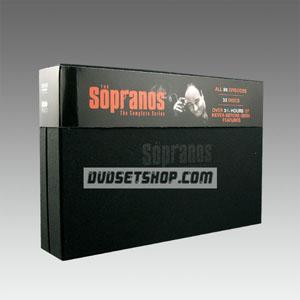 The Sopranos Seasons 1-6 DVD Boxset