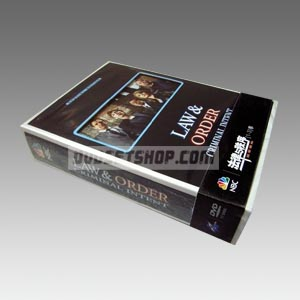 Law & Order: Criminal Intent Seasons 1-3 DVD Boxset