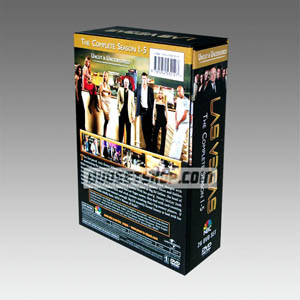 Las Vegas Seasons 1-5 DVD Boxset
