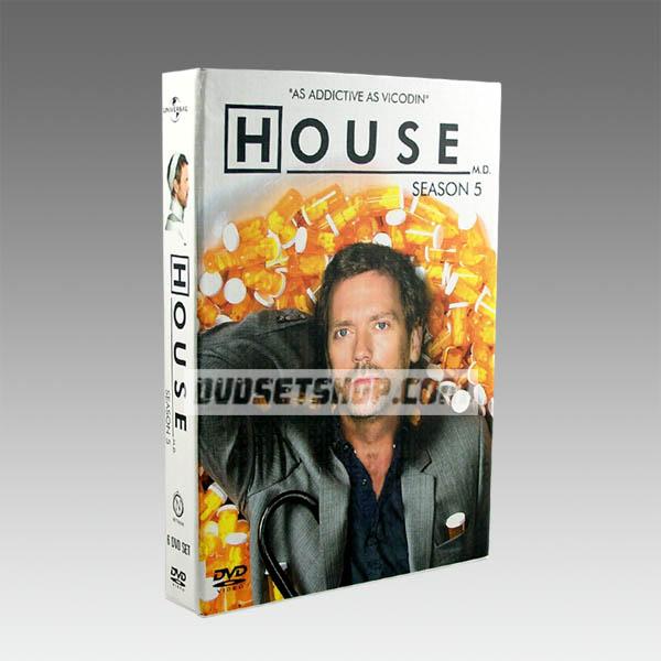 House M.D Season 5 DVD Boxset