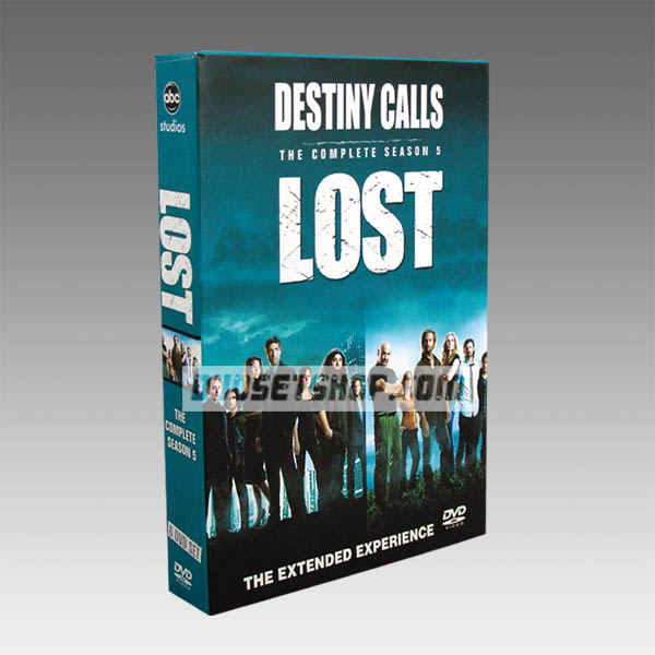Lost Season 5 DVD Boxset