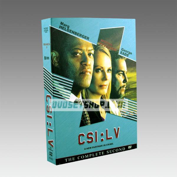 CSI Lasvegas Season 9 DVD Boxset