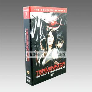 Terminator The Sarah Connor Chronicles Season 2 DVD Boxset
