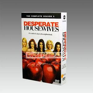 Desperate Housewives Season 5 DVD Boxset