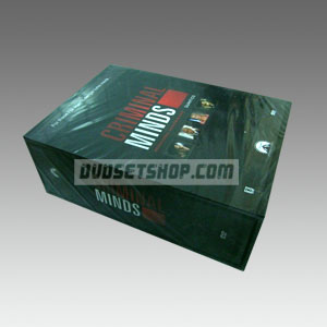Criminal Minds Seasons 1-4 DVD Boxset