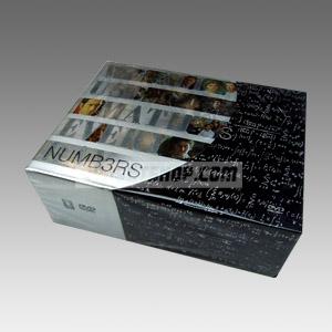 Numb3rs Seasons 1-5 DVD Boxset