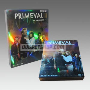 Primeval Seasons 1-3 DVD Boxset