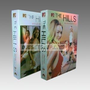 The Hills Seasons 1-4 DVD Boxset - D9