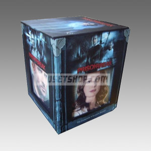 Prison Break Seasons 1-4 DVD Boxset