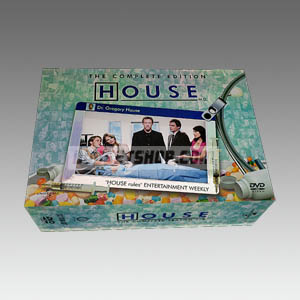House M.D Seasons 1-5 DVD Boxset