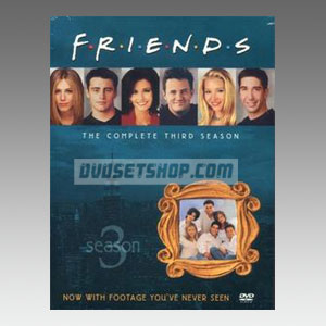 Friends Season 3 DVD Boxset