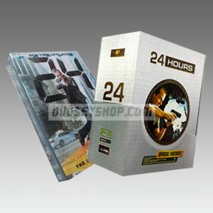 24 Hours Seasons 1-8 DVD Boxset