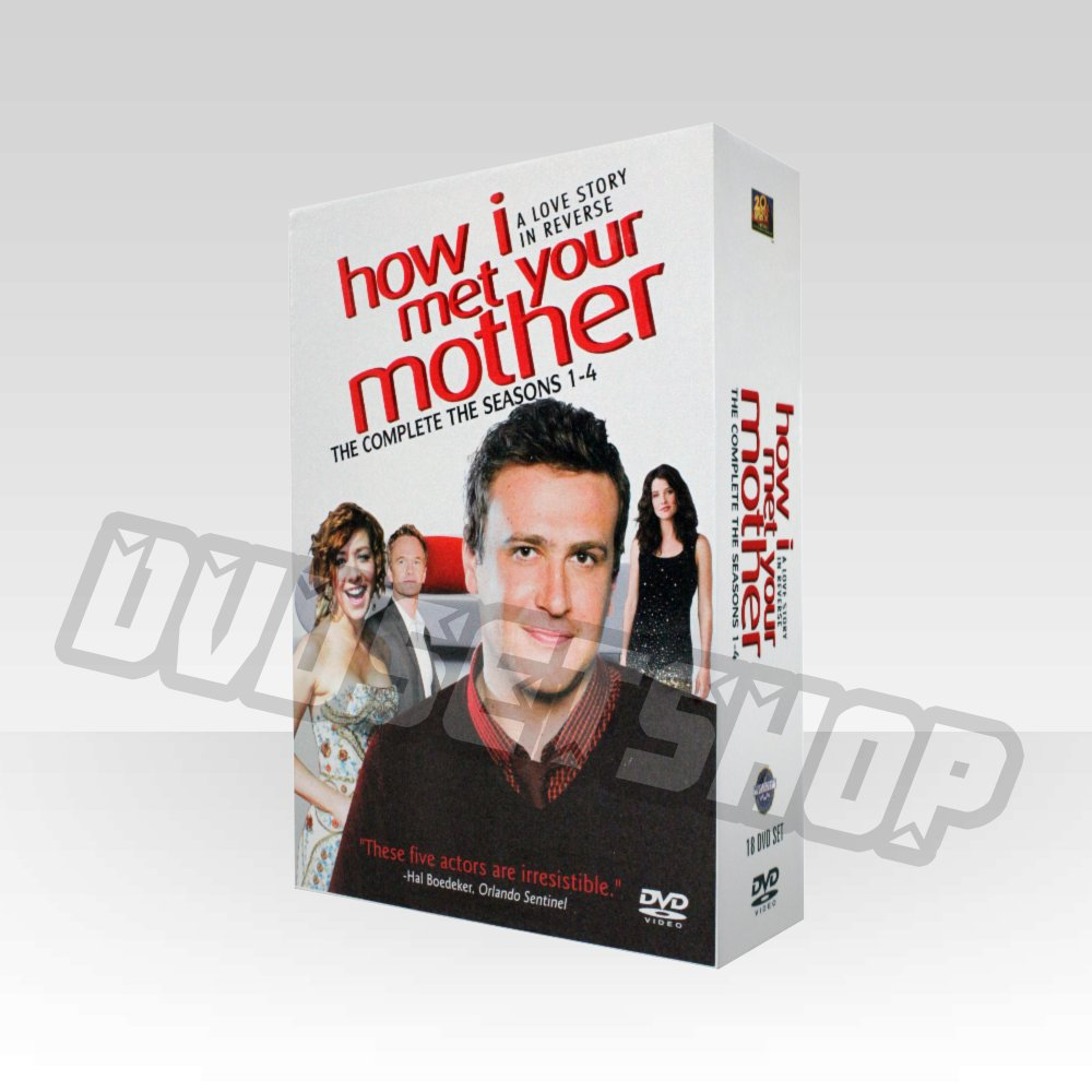 How I Met Your Mother Seasons 1-4 DVD Boxset