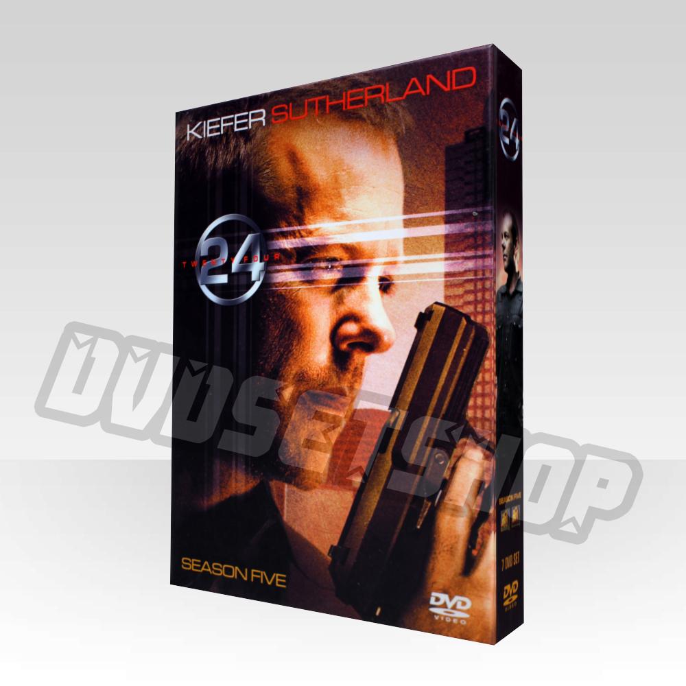 24 Hours Season 5 DVD Boxset